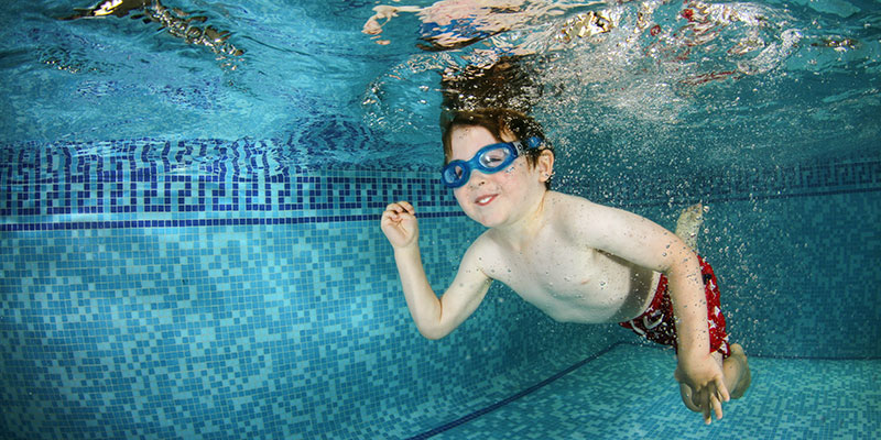 kids swimming lessons bournemouth & poole